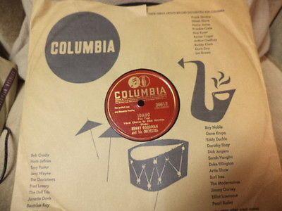 Columbia-10-78-Benny-Goodman-Dick-Haymes-Idaho-Take-Me-E