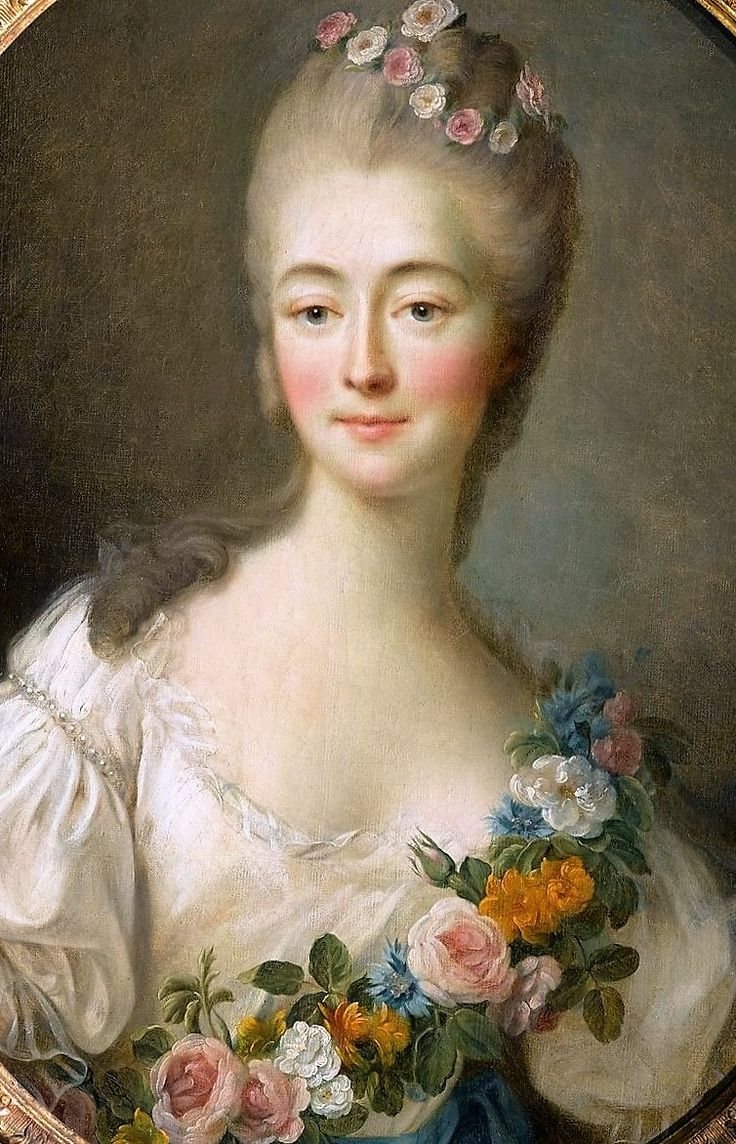 Madame du Barry by Francois Hubert Drouais