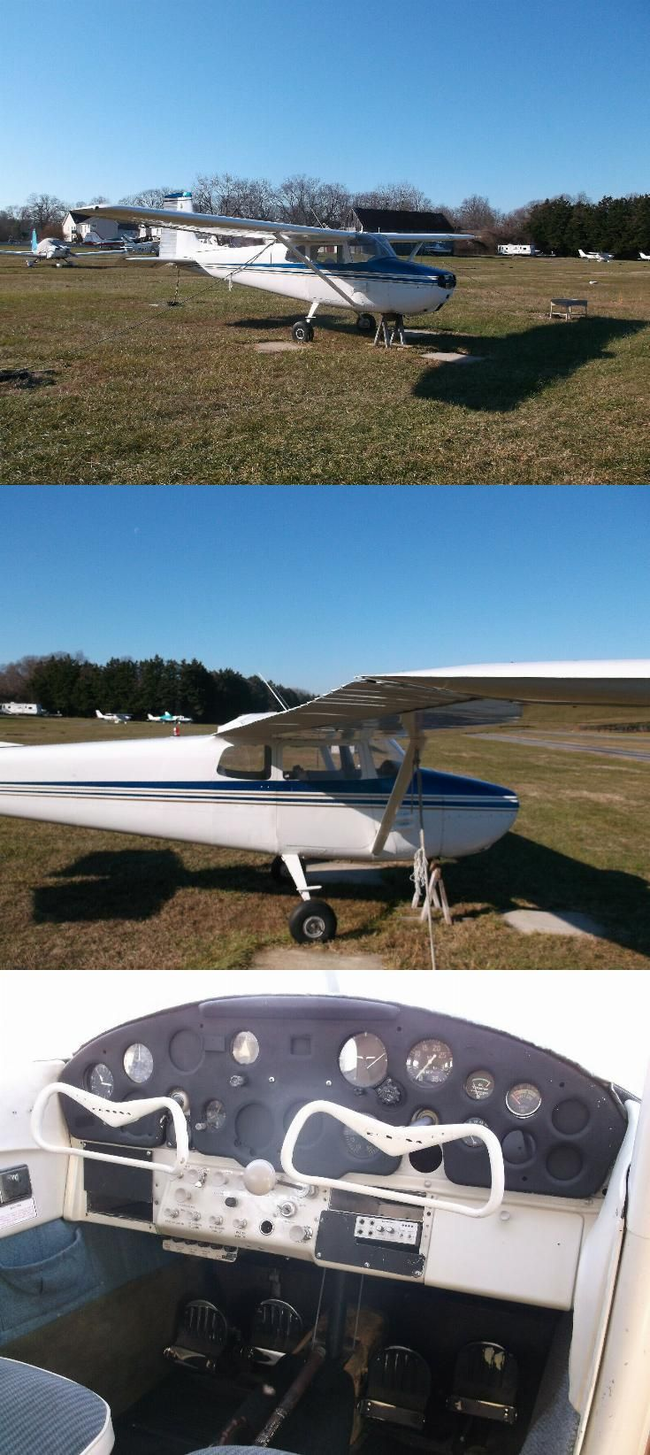 nice upgraded 1956 Cessna 172 Aircraft in 2020 Cessna