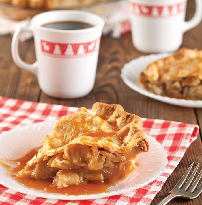 Christy Jordan's Caramel Apple Pie
