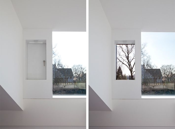 is ventilation plus picture window possible in the bedroom?