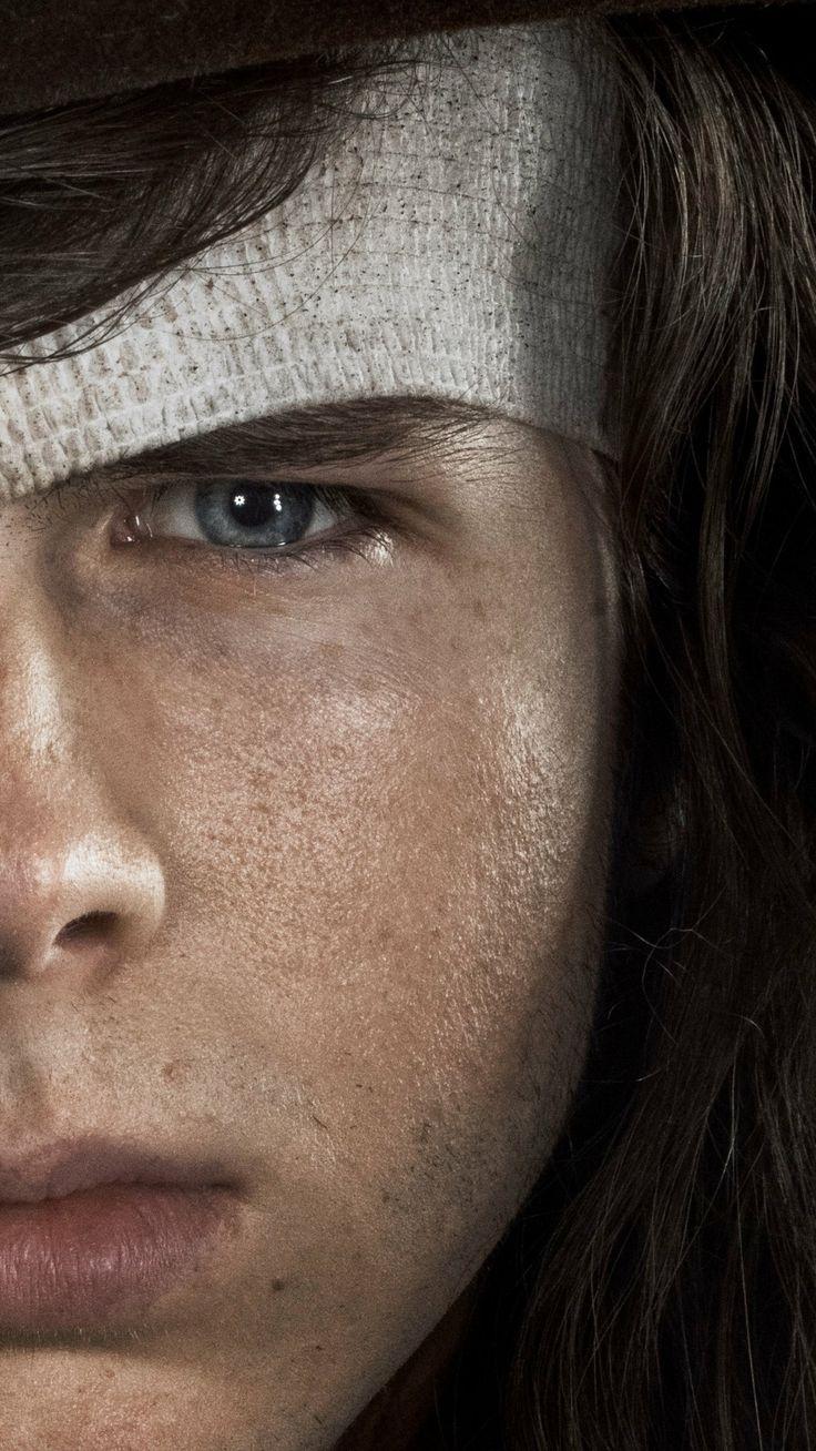 Chandler Riggs como Carl Grimes | The Walking Dead 8° Temporada - Foto: Frank Ockenfels 3/AMC