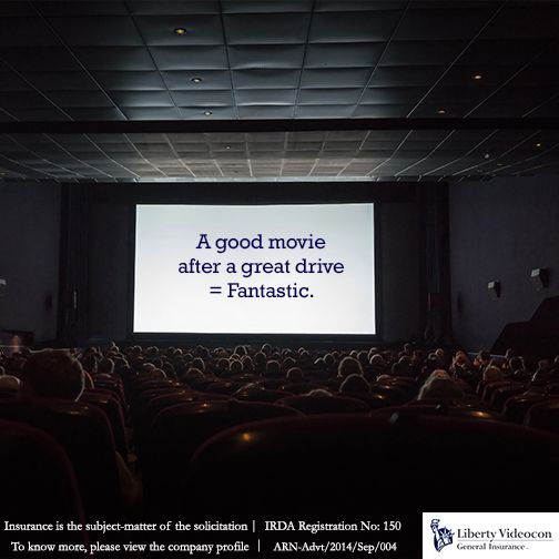Does the drive to the cinema hall excite you? Tell us your #DrivingJoys