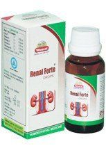 Wheezal Homeo Pharma Renal Forte Drops - To control Blood Urea & Serum Creatinine levels. Control Hyper and Hypotension, Weakness & Fatigue.