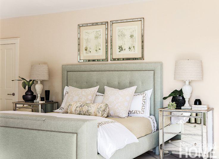 Pale Green And Cream Create A Natural Calming Energy