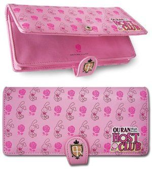 Ouran High School Host Club Rose & Rabbit Wallet by GE Animation. $14.44. Licensed Merchandise. Licensed Ouran High School Host Club wallet.  This velcro closure wallet. features Bunbun Rabbit and Roses. I want one so bad!!!!!