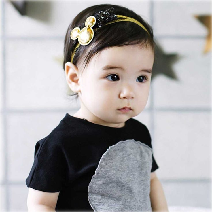 >> Click to Buy << 2 Pcs Broning Micky Headband For Toddler Baby Children Shining Star Elastic Hair Band Accessories #Affiliate