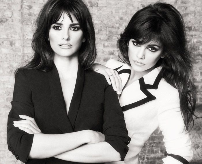 Beautiful Penélope and Monica Cruz
