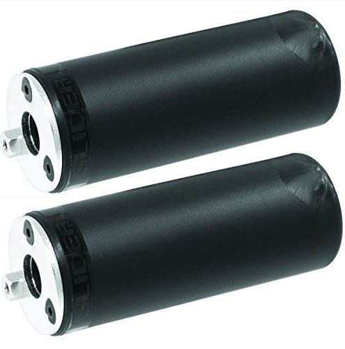 BMX Bikes - BMX PEGS SLIDER 14MM  38 BICYCLE NYLON PAIR PEGS BLACK * For more information, visit image link.