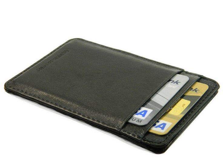 credit card holder electronic
