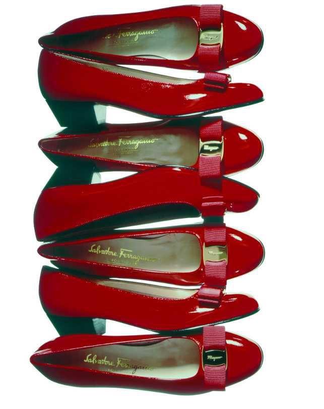 1978: The 'Vara', Ferragamo's most famous shoe, designed by Fiamma Di San Giuliano. Start a success continues today.