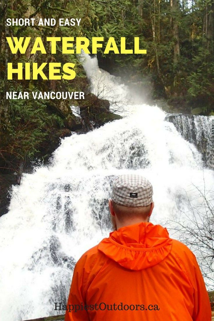 Short and easy waterfall hikes near Vancouver. 4 short hikes to waterfalls in the Fraser Valley near Vancouver. You can visit all of these Vancouver area waterfalls in one day on a road trip.