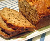 The best way to warm up your house and make you feel like cosying up to the fire this winter is this delightful banana bread.