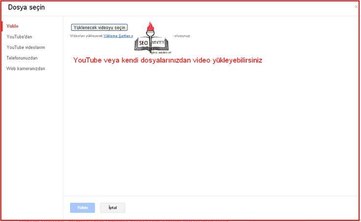 Blogger Makalelerine Video Ekleme