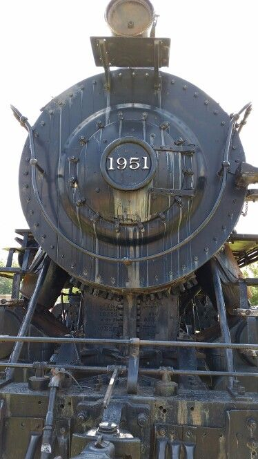 Old Iron Horse side tracked in Ardmore Oklahoma.
