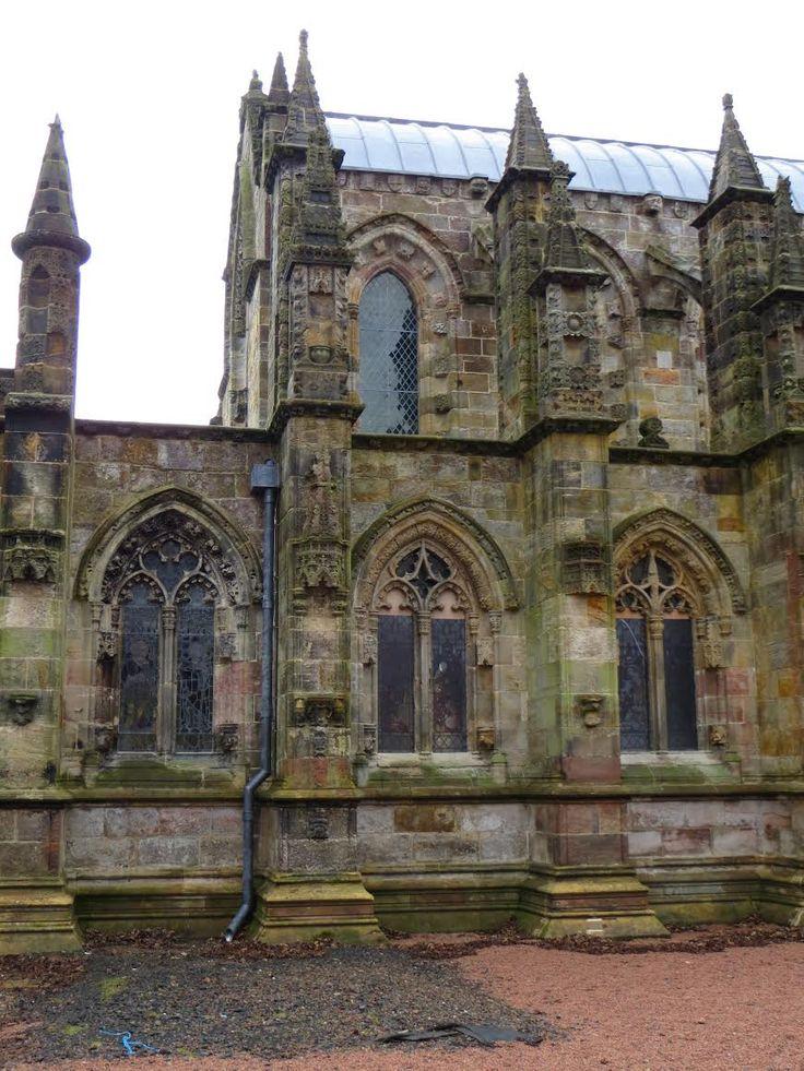 Rossyln Chapel by Buffy Martin Tarbox