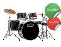 "Mapex Tornado Starter Drum Kit for Beginners Black 22"" Rock/Fusion  £259.00"