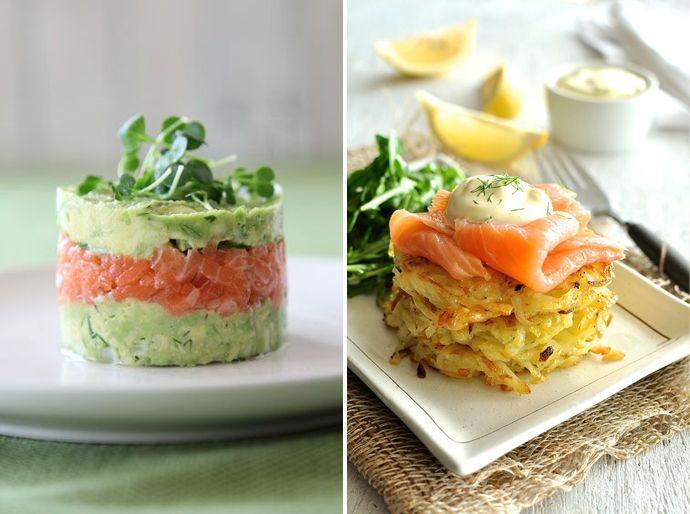 Culinaire voorgerechten inspiratie voor het kerstdiner laagjes zalm salmon christmas menu - Christmas menu pinterest ...