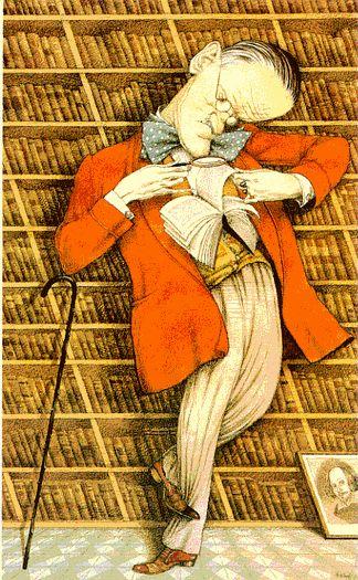 Tullio Pericoli, caricaturiste