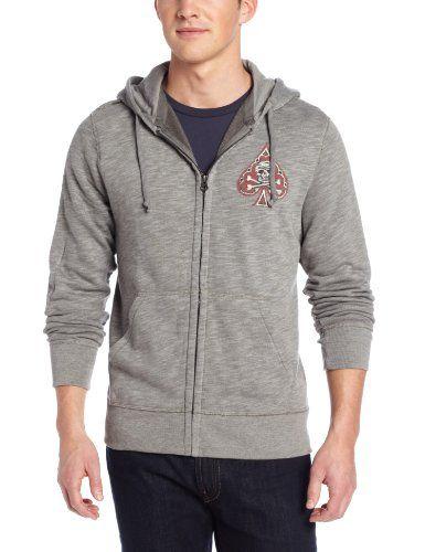 Lucky Brand Men's Spade Logo Hoodie, Charcoal Gray, Medium Lucky Brand http://www.amazon.com/dp/B00F0E3M9M/ref=cm_sw_r_pi_dp_QVXTtb1WV7QAN2ME