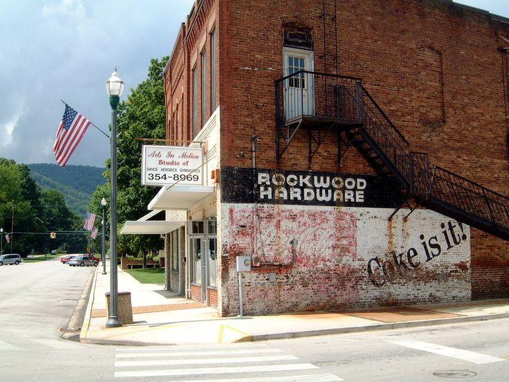 Main Street Rockwood Tn My Home Town