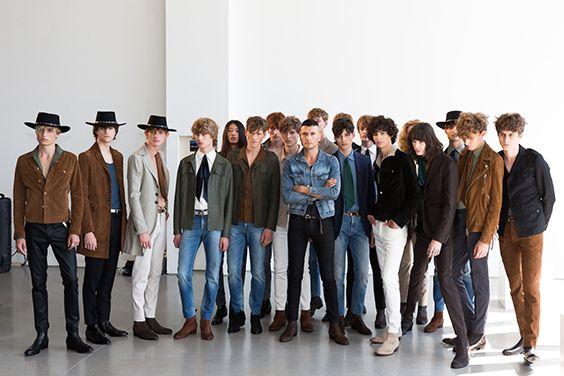 J.Lindeberg Men's Spring/Summer 2016 Fashion Show, New York. #jlindeberg