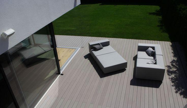 wpc vollprofil premium terrassendielen von mydeck auf moderner design terrasse mydeck gmbh. Black Bedroom Furniture Sets. Home Design Ideas