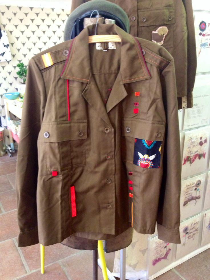 SADF 80's military shirt