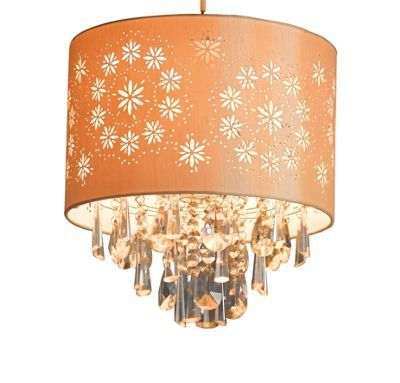 15 best lighting images on pinterest ceiling lamps ceiling lights lacy easyfit pendant shade 660882 is cream with clear droplets 1874 homebase from aloadofball Gallery