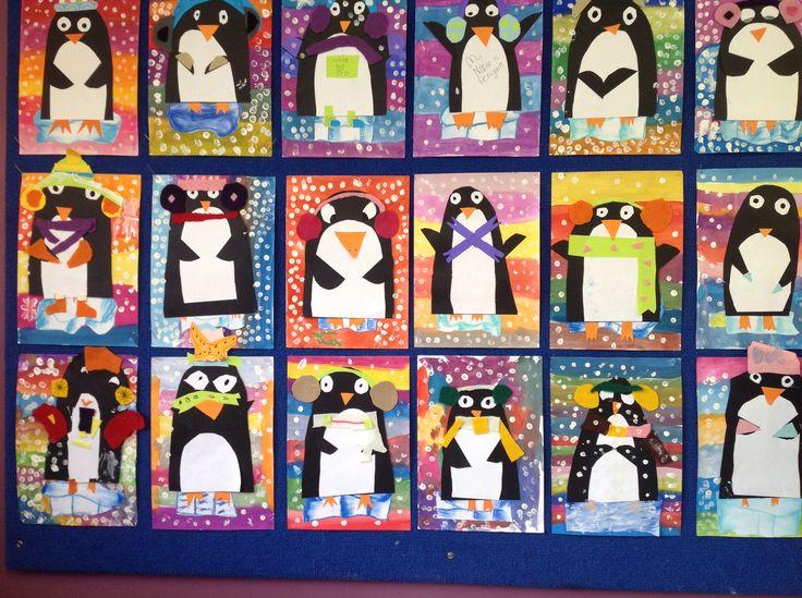 Year 2 winter penguins