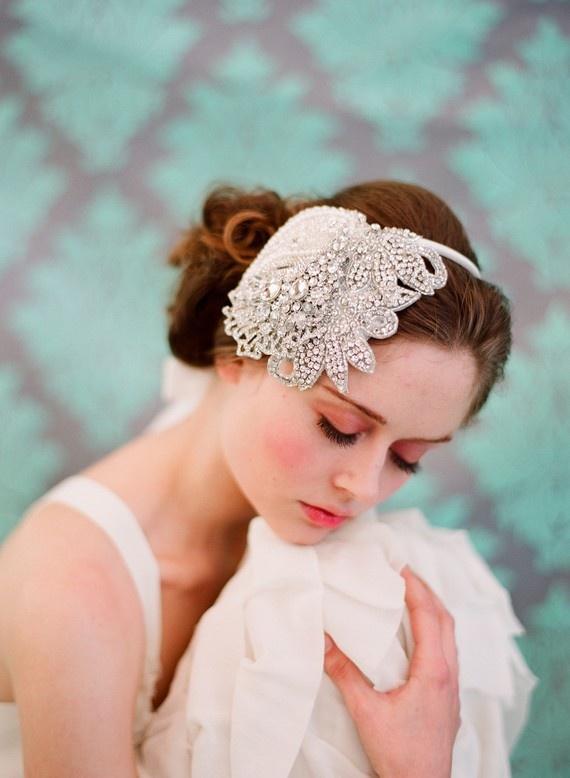 .: Head Pieces, Shimmer Bridal, Bridal Headpieces, Hair Pieces, Wedding Hairs, Headbands Style, Hair Style, Hair Accessories, Bridal Headbands