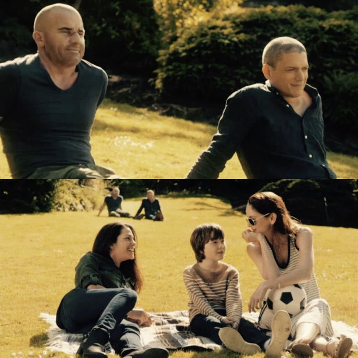 Finally the happy ending. Free Michael. And all together. #5x9 #PrisonBreak