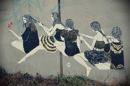 This street art by Paper Twins would be quite lovely to pass by.