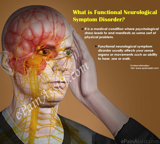 Functional neurological symptom disorder is a medical condition where psychological stress leads to and manifests as some sort of physical problem. Functional neurological symptom disorder is also called as Conversion Disorder. Know the causes, symptoms, treatment, risk factors and prognosis of Functional neurological symptom disorder.