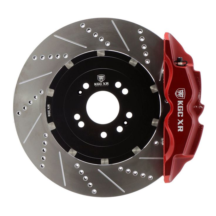 KGC XR Performance Big Brake Kit 4pot front for Golf,Caddy,Audi (Red/Blue/Black) #KGCXRBrakeTechnologies