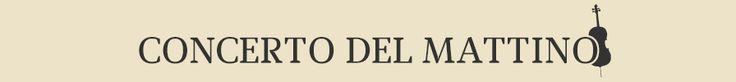 [Radio Rai 3] Il Concerto del Mattino è lo spazio musicale che offre agli ascoltatori una selezione dei migliori concerti dei cartelloni musicali dei maggiori teatri e istituzioni musicali del mondo, dal grande repertorio sinfonico alla musica da camera, dalla musica liederistica al repertorio lirico. La musica proposta è il frutto di una oculata scelta della produzione mondiale di concerti registrati esclusivamente live.