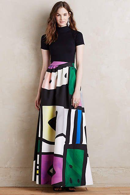 Modernist Ball Skirt - anthropologie.com