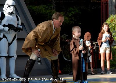 Adventures Of A New MilWife: Jedi Training Academy