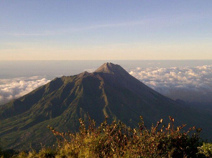 from Merbabu's summit