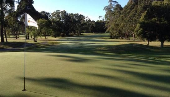 Enjoy the beautiful view of one of Victoria's Secret Hidden Gems, Drouin Golf Club! This offer includes 18 holes for two with a shared motorised cart & a drink each after your game. Normally $108, today just $55! #golf #golfvic