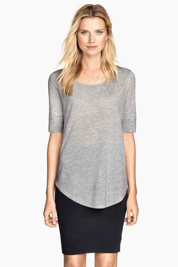Bluză din jerseu | H&M