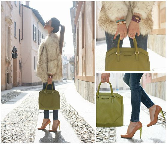 SUNSHINE (by Nicoletta Reggio) http://lookbook.nu/look/4673655-Choice-Coccinelle-Michael-Kors-Zara-Sunshine