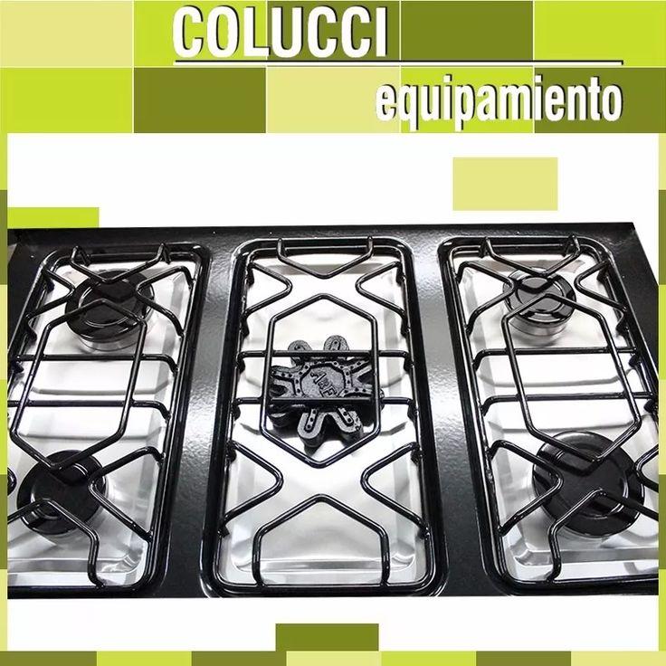 Cocina Industrial Depaolo 5 Hornallas 90 Cm Horno Pizzero - $ 9.799,00
