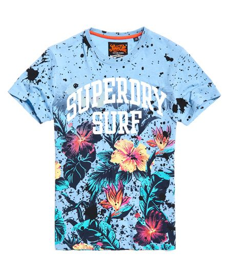 b37a8ab26 Superdry Echo Beach All Over Print T-Shirt | Camisetas | Camisetas ...