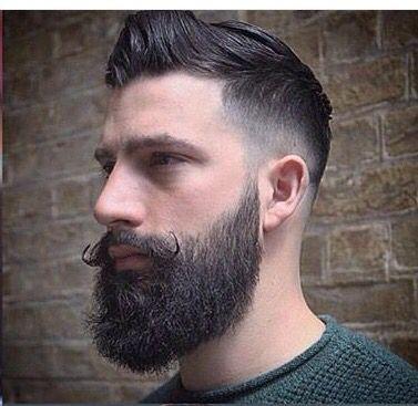 Hair and beard. Very nice I might add.