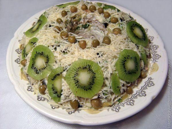 Салат Нефритовое кольцо / Рецепты с фото