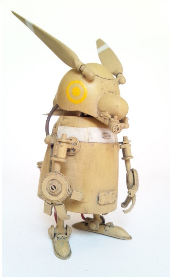 1:32 scale model Rabbit Soldier by Shizuoka. Pinned by #relicmodels