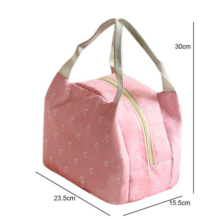 Spacious Portable Insulated Thermal Lunch Bags (2 colors)