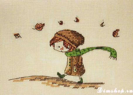 Embroidery Neocraft MR-10 Autumn Walk