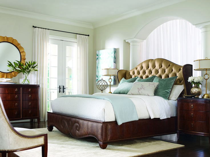 St. James Place Upholstered Bed   Compositions.